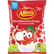 Allens Strawberries & Cream (190g)