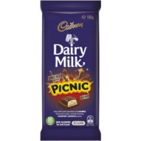 Cadbury Dairy Milk with Picnic (170g)