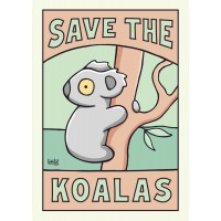 Save The Koalas A4